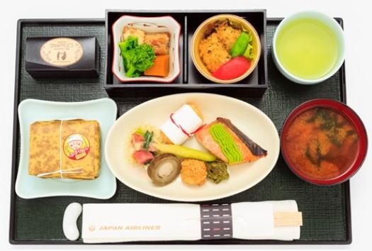 ふっくりんこ JAL機内食